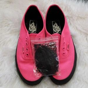 Hot Pink Low Top Vans